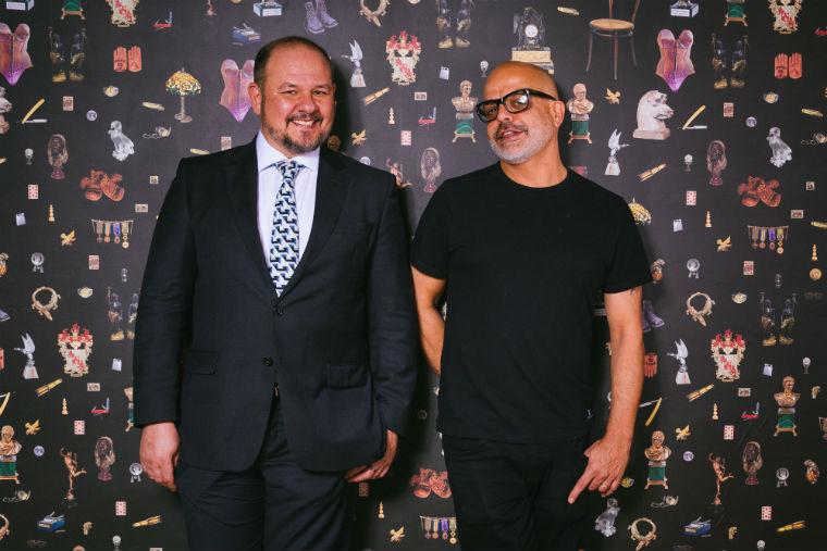 Rodrigo Mussolino e Cacá Ribeiro, sócios do Jerome