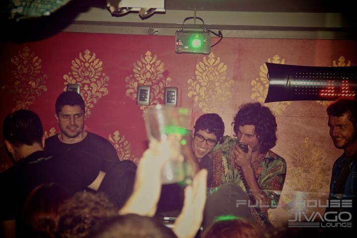 Festa que Davis fazia em Floripa, chamada Fullhouse, com o DJ convidado, Wolfram