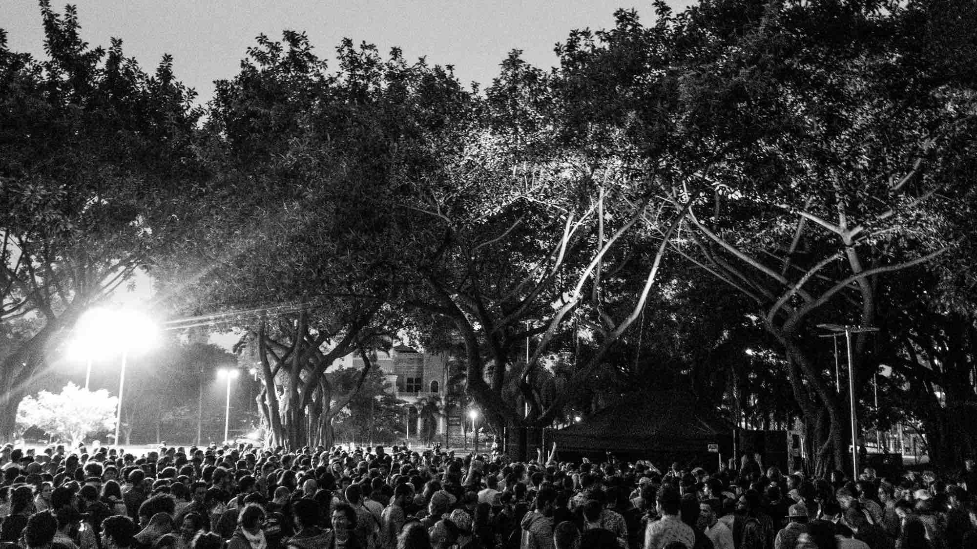 Festa ODD no Parque Dom Pedro, em São Paulo, em outubro de 2016