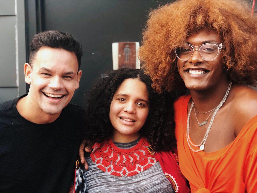 SXSW 2018 - João Brasil, Lido Pimienta e Liniker. Foto: Lalai Persson