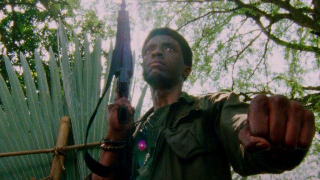 Chadwick Boseman em Destacamento Blood Foto divulgação Netflix