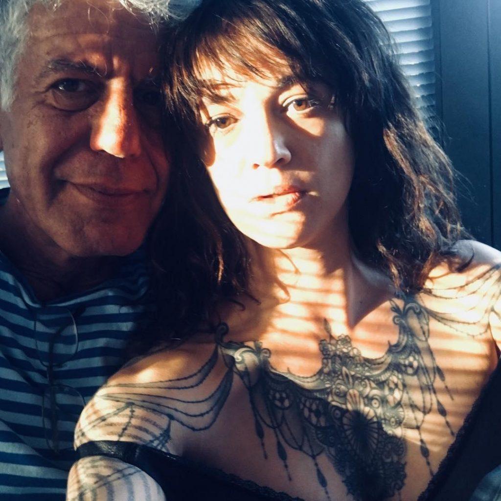 Anthony Bordain e Asia Argento