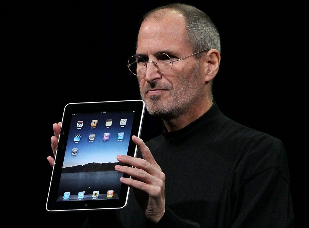 Apple iPad e Steve Jobs