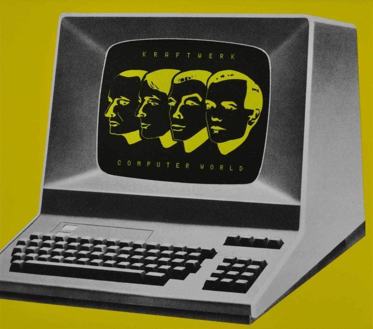 Kraftwerk - capa do álbum Computer World