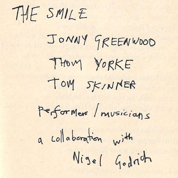 the smile, nova banda de thom yorke