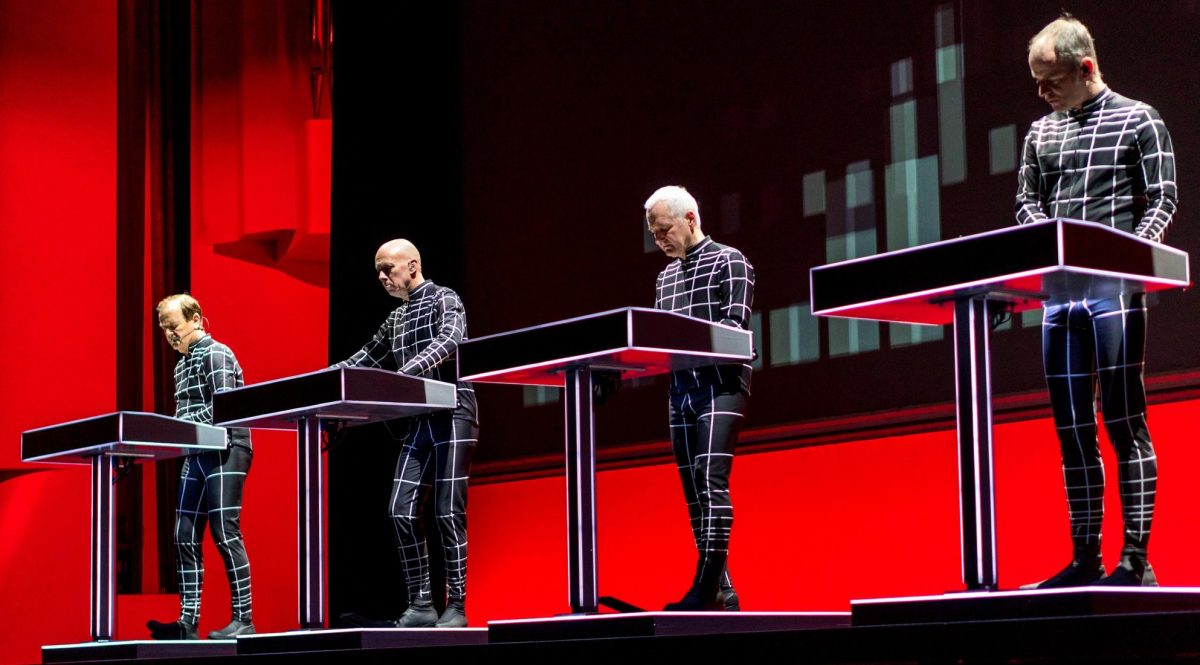 Kraftwerk no palco do Grammy