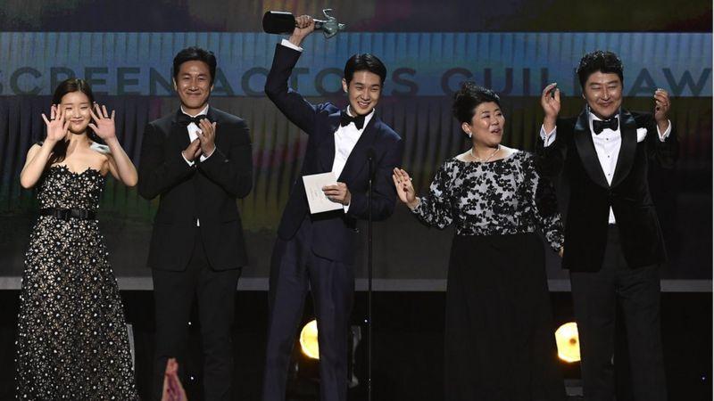 elenco filme Parasita no Oscar
