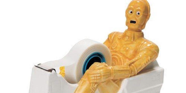 porta durex do C3PO - Star Wars