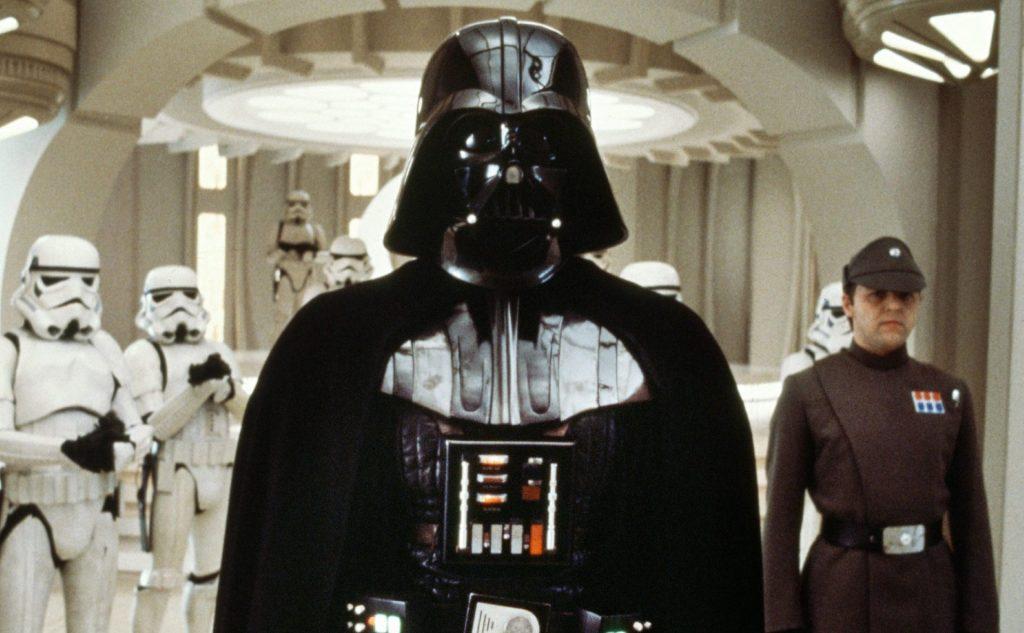 Darth Vader em O Imperio Contra Ataca, de Star Wars