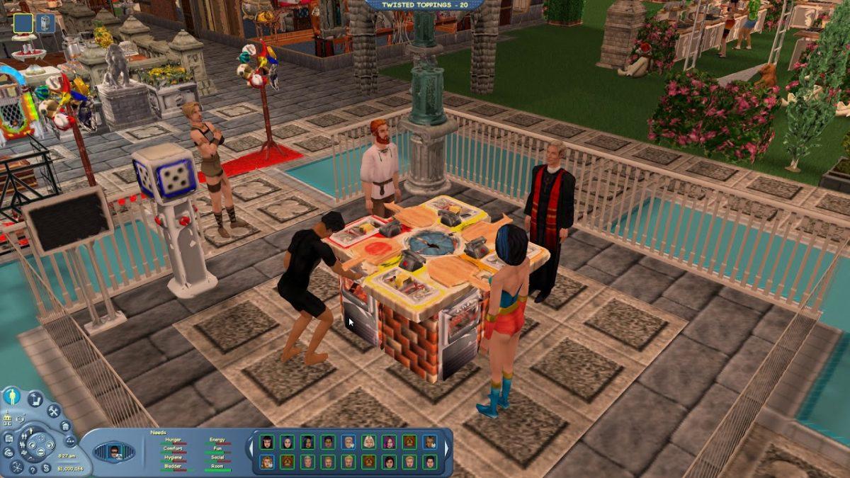 Captura do jogo The Sims Online