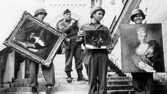 obras roubadas durante a 2a. guerra mundial