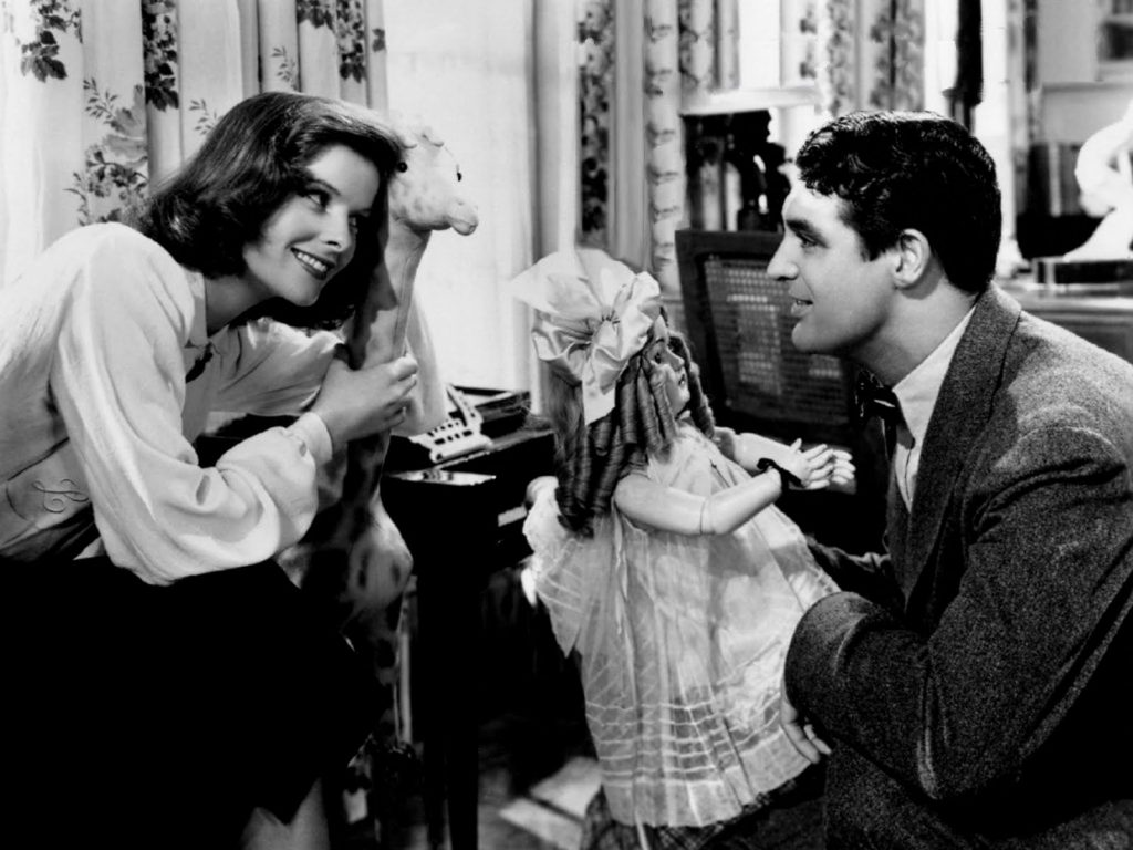Katherine Hepburn e Cary Grant