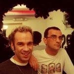 Oscar Bueno e Cesar Semensato