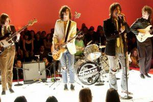 the strokes no palco da MTV