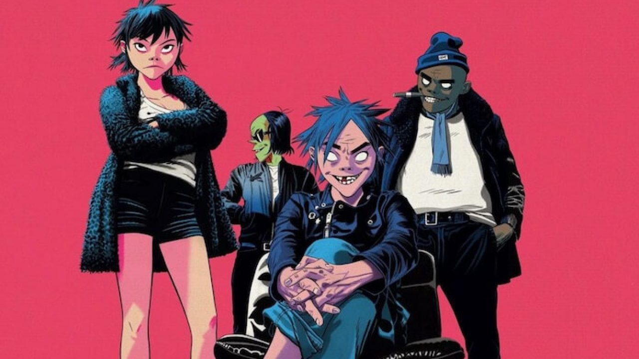 banda Gorillaz