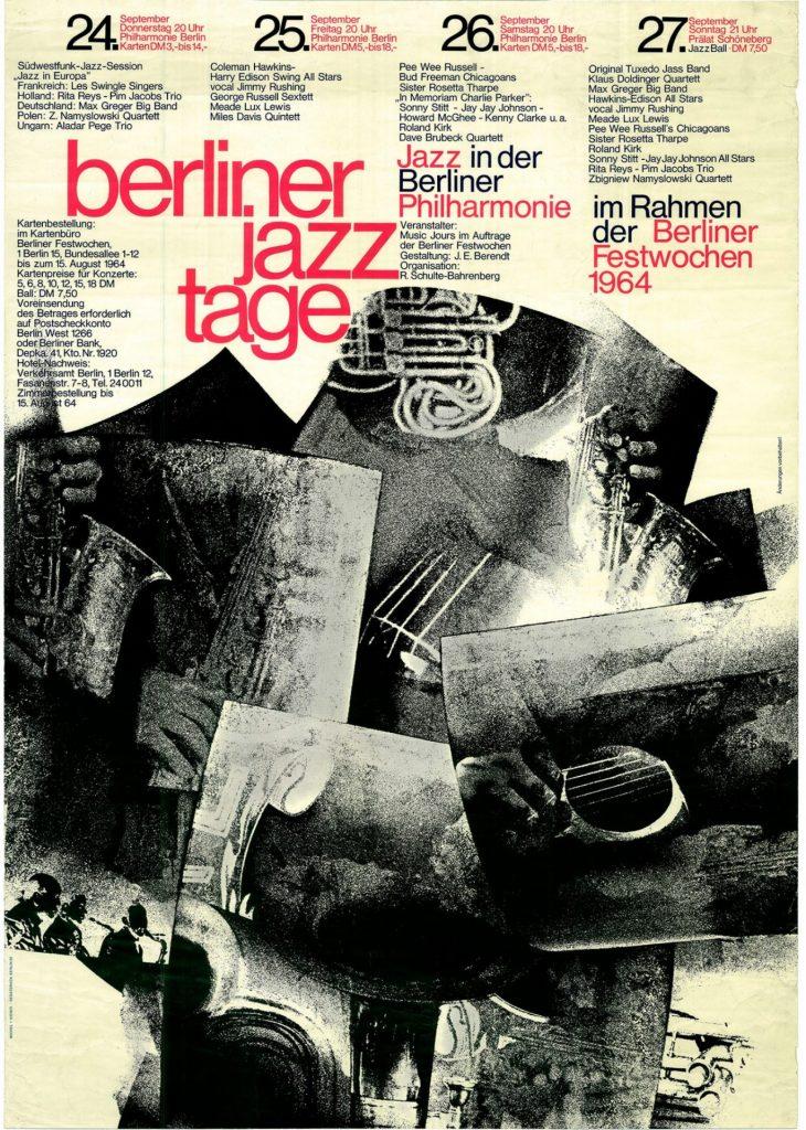 Cartaz do Festival de Jazz de Berlim