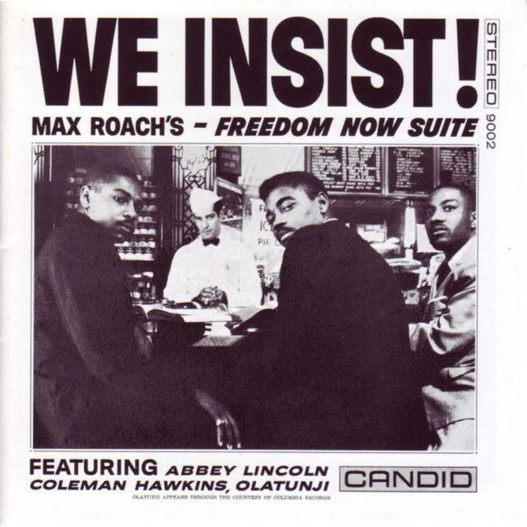 capa do disco We Insist de Max Roach