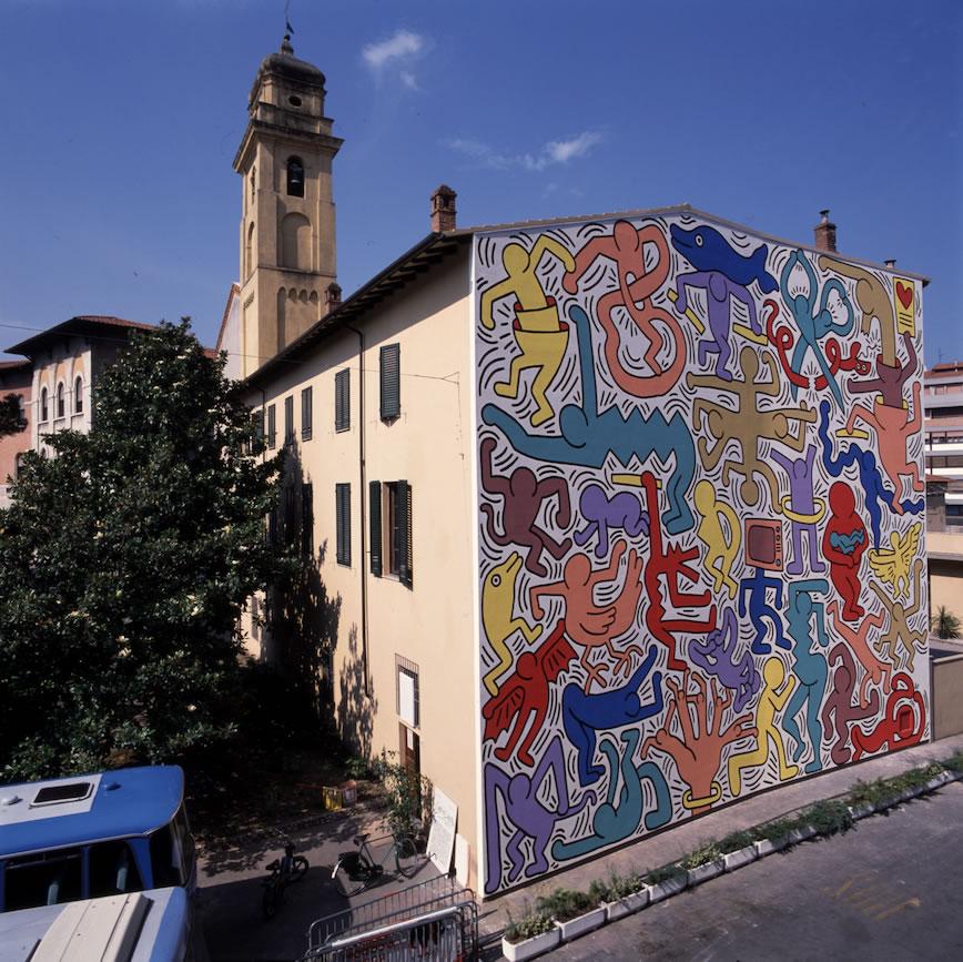 Mural Tuttomondo, de Keith Haring