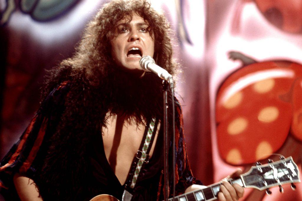 Marc Bolan (T.Rex) no palco