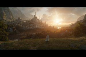 Foto oficial da série baseada em O Senhor dos Anéis