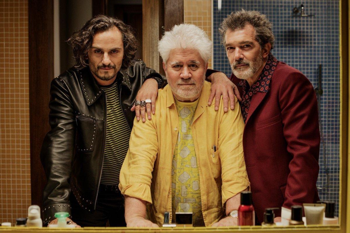 Foto de divulgação do filme Dor e Glória (2019), de Pedro Almodóvar