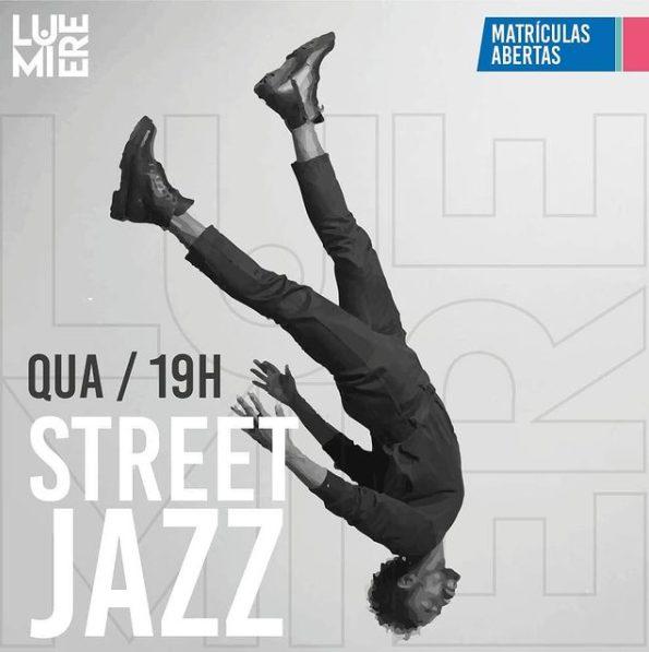 Cartaz aulas jazz