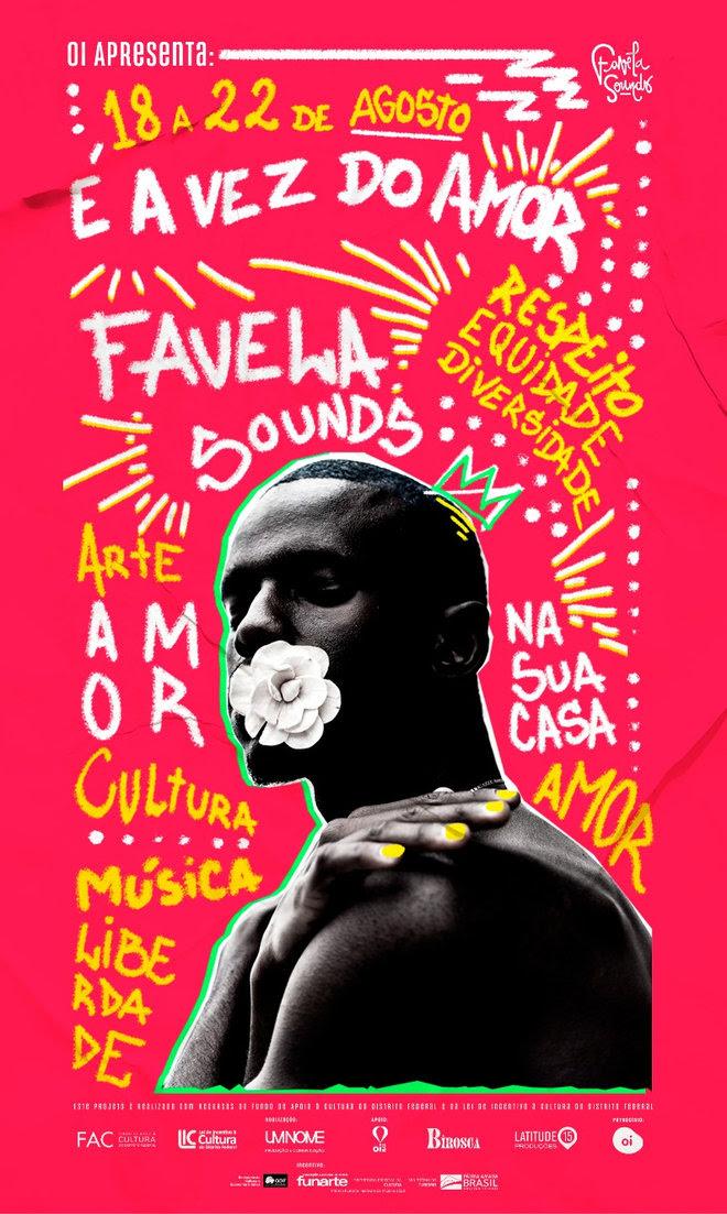 Cartaz favela sound