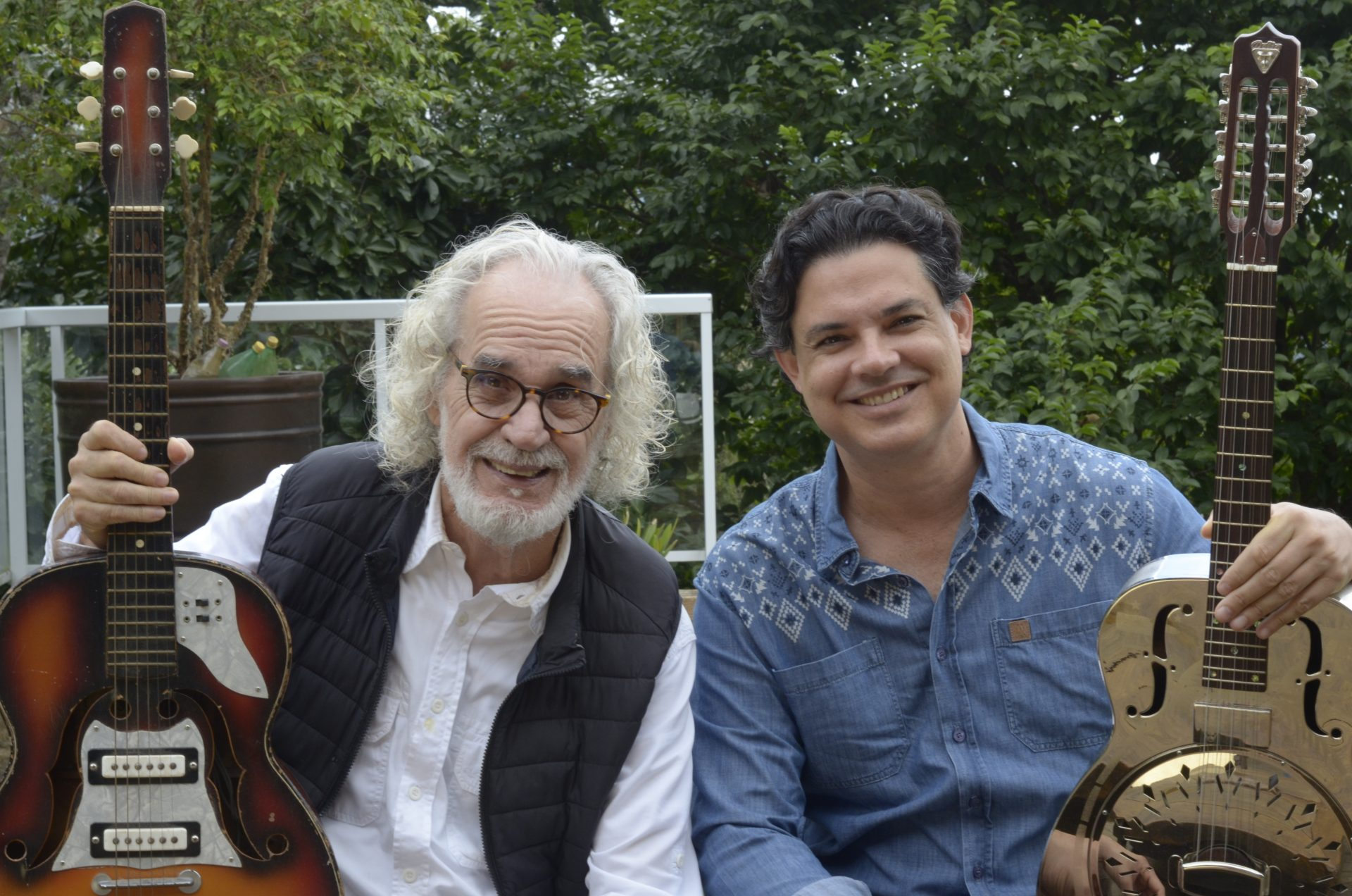 Renato Teixeira e Yassir Chediak
