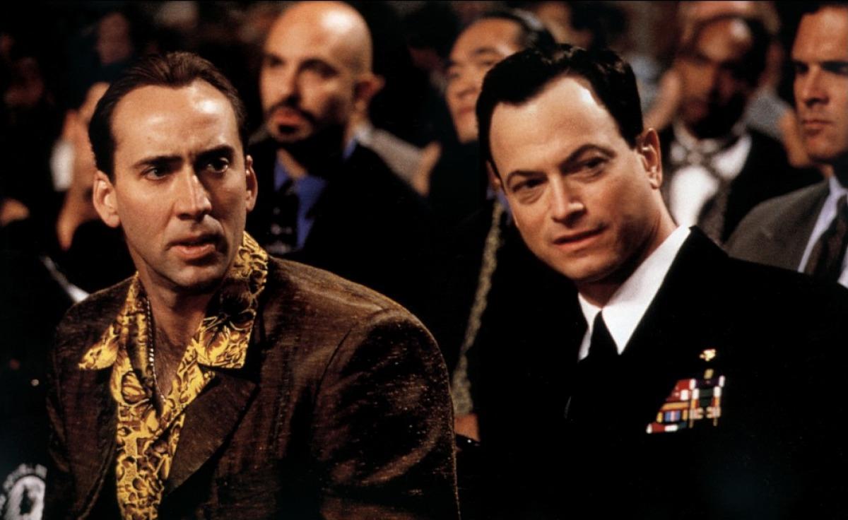 Nicolas Cage Gary sinistra olhos de serpente Brian de palma