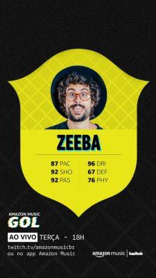 Zeeba e Gustavo Bertoni dão ponta pé inicial ao campeonato